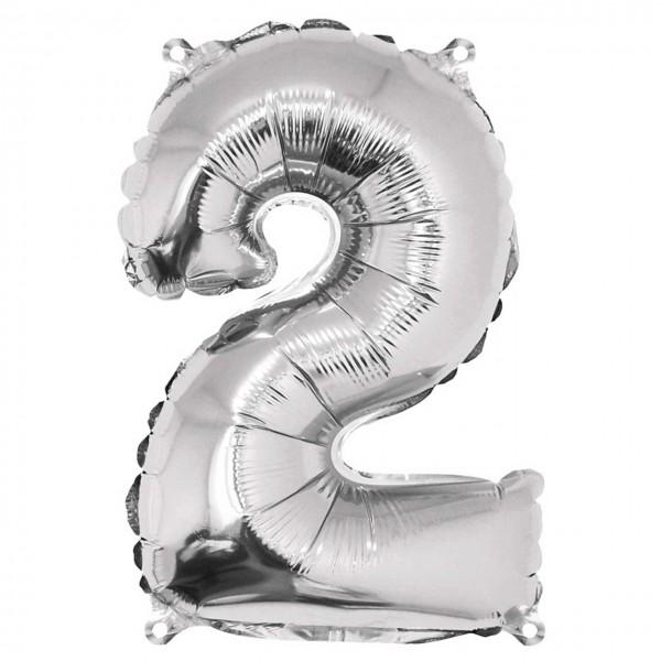 Rayher Folienballon Zahl 2