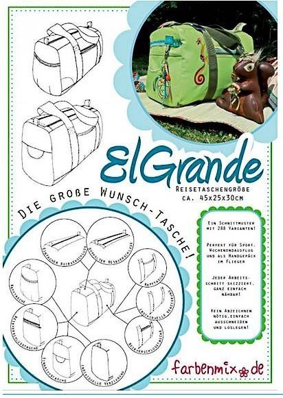 farbenmix El Grande Reisetasche