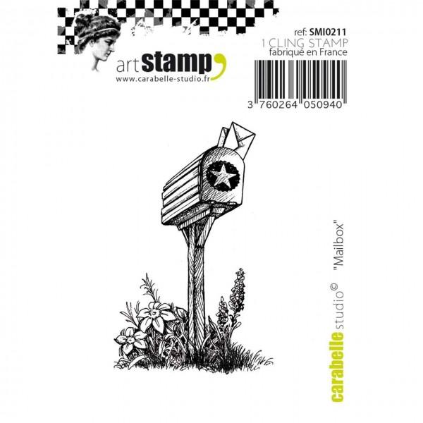 Carabelle artStamp Mailbox