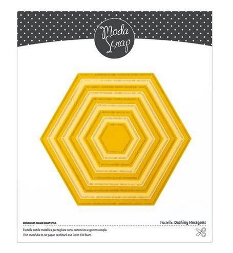 Moda Scrap Fustella Stanzdie - Dashing Hexagons