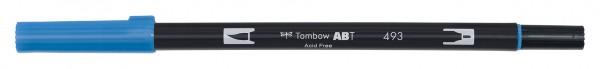 Tombow Dual Brush Pen - Reflex Blue - Blaue Spiegelung