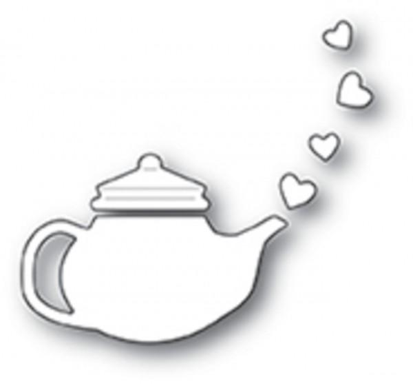 Poppystamps Stanzdie lovely teapot