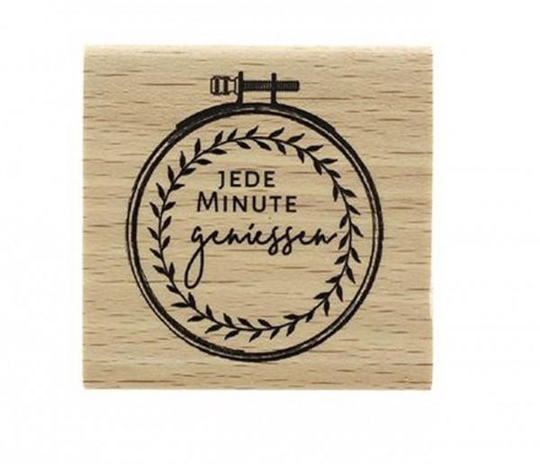 Florileges Design Holzstempel Stickerei