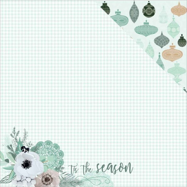 Kaiser Craft Mint Wishes Collection Flannelette