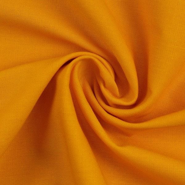 Baumwollstoff Heide orange