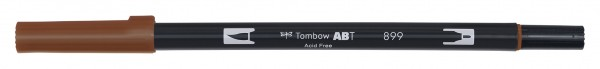 Tombow Dual Brush Pen - 899 - Holzrot