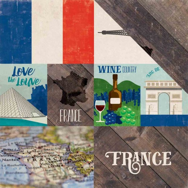 Echo Park Paper arround the world France