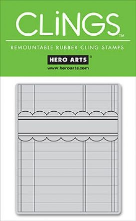 Hero Arts - Clings Stamps - Write Your Own