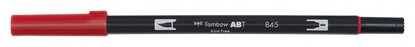 Tombow Dual Brush Pen - 845 - Karminrot