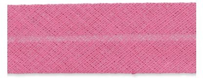 Baumwollschrägband pink