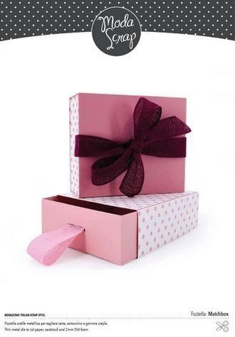 Moda Scrap Fustella Stanzdie - Matchbox