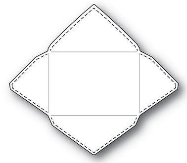 Poppystamps Stanzdie Stitched Envelope