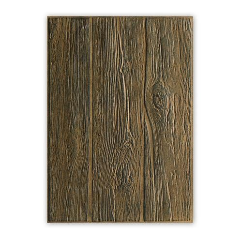 Tim Holtz Embossing folder Lumber 3D