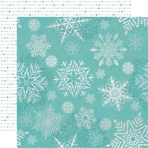 Kaiser Craft Let it snow Collection - falling snowflakes