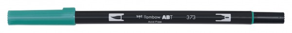 Tombow Dual Brush Pen - 373 - Meeresblau