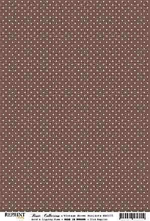 Reprint Basic Collection Vintage Brown Minidots