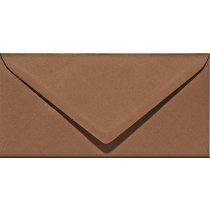 Papicolor Umschlag DIN lang nussbraun