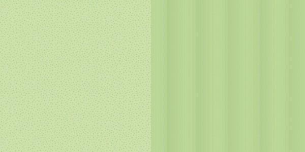 Dini Design Papier mini Sterne/Streifen Limettengrün