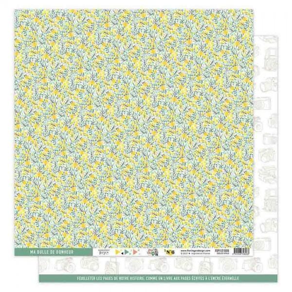 Florileges Papier Dolce Vita N°6