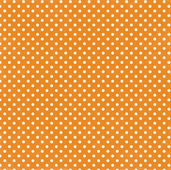 Echo Park Dots ans Stripes Orange