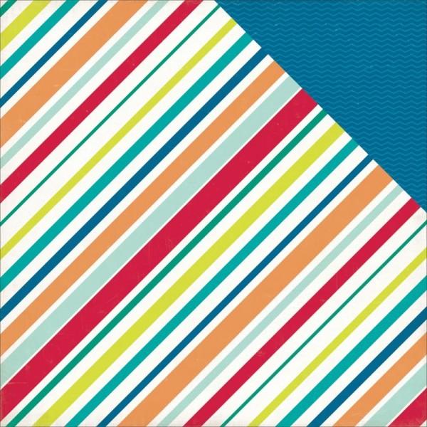 Echo Park Birthday Wishes Boy Stripes