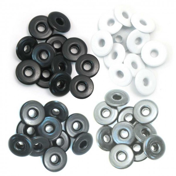 We are memory keepers Eyelets grey