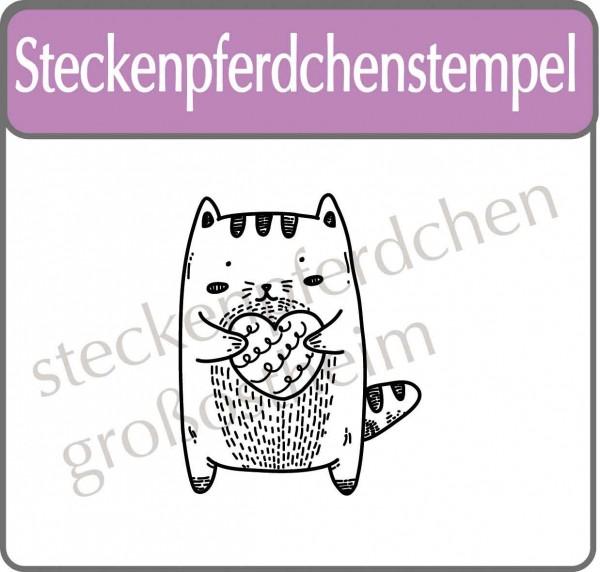 Steckenpferdchenstempel Kitty
