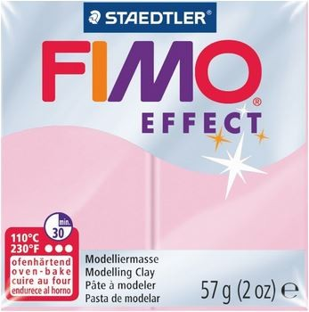 Fimo Effect rose pastell