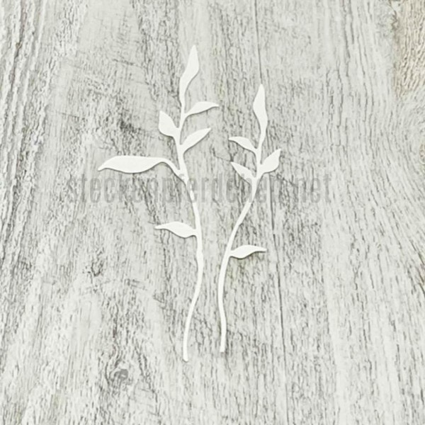 Steckenpferdchenstanze filigranes Blatt Set
