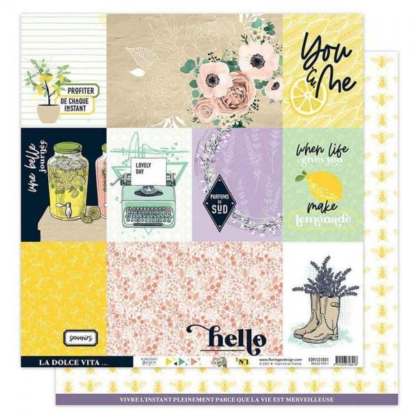 Florileges Papier Dolce Vita N°1