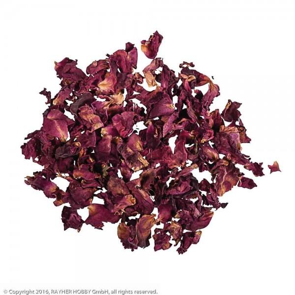 Rayher Blüten Rosenblütenblätter rot