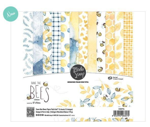 Moda Scrap -PAPER PACK SAVE THE BEES