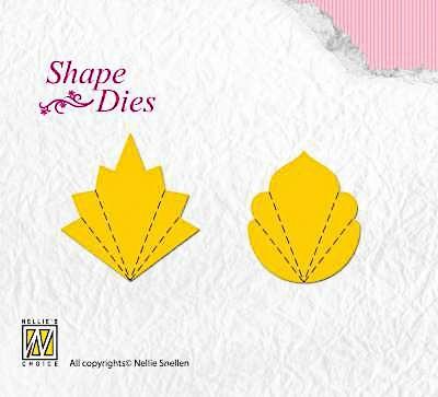 Nellie Snellen Shape Dies Folding Shape C/D