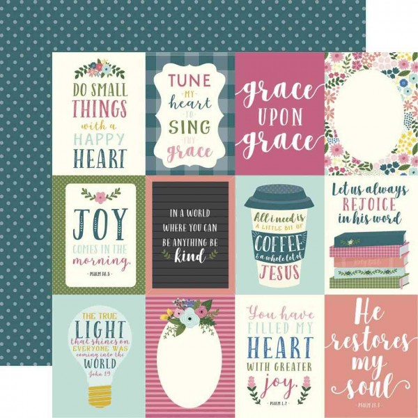 Echo Park have Faith Journaling Cards