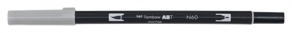 Tombow Dual Brush Pen - Cool Gray 6 - Grauton kalt 6