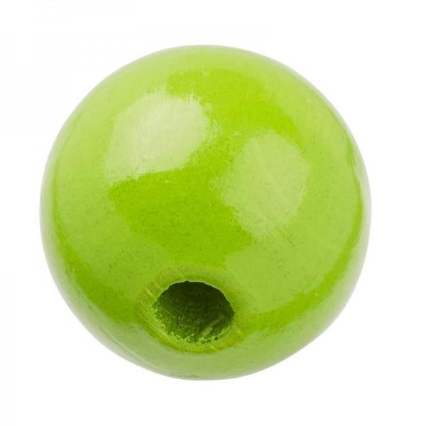 Schnulli Holzperlen 10 mm apfelgrün