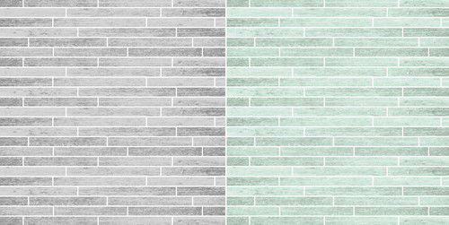 Dini Design Papier Holzoptik grau/mint