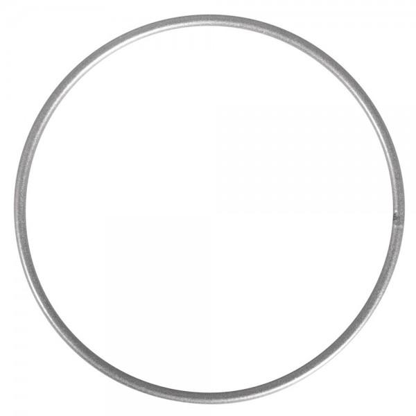 Rayher Metallring beschichtet silber 10 cm