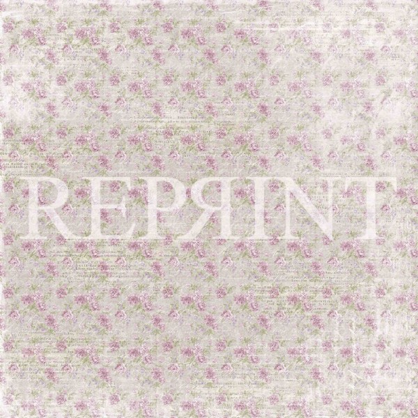 Reprint Lilac Paris Collection Small Roses