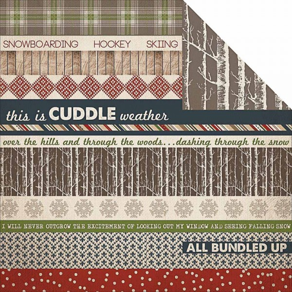 Carta Bella warm and cozy Border Strip