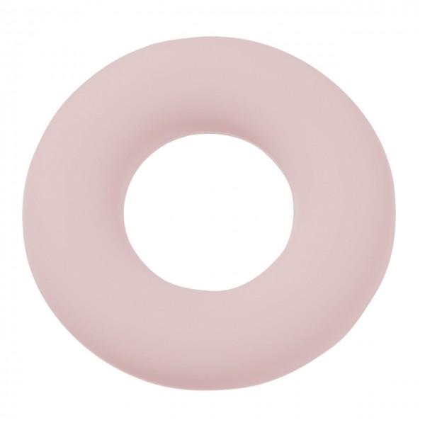 Schnulli-Silikon Ring rosa
