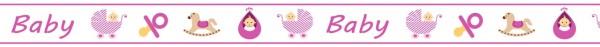 Ursus Masking Tape Baby rosa