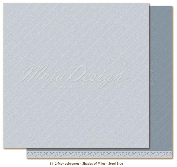 Maja Design Monochromes - Shades of Miles - Steel Blue
