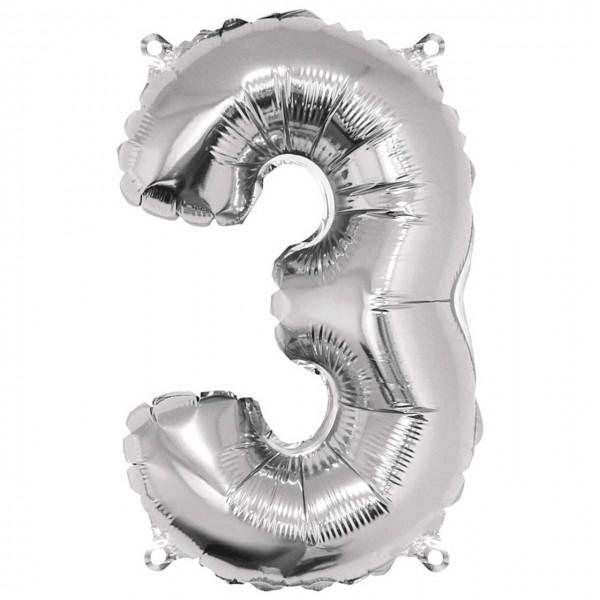 Rayher Folienballon Zahl 3