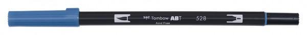 Tombow Dual Brush Pen - 528 - Navy Blau