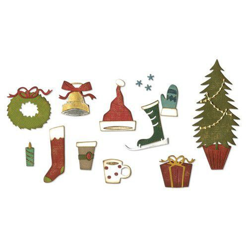 Sizzix Thinlits festive things