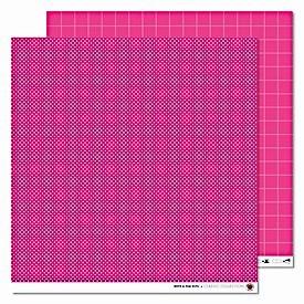 Karen Marie Klip pink White & Pink Dots