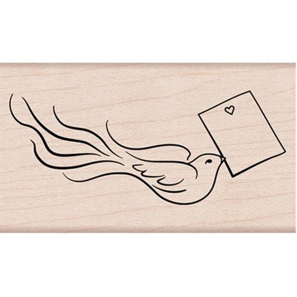 Hero Arts Holzstempel love note bird