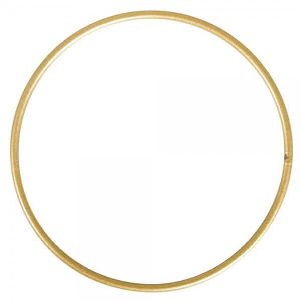 Rayher Metallring beschichtet gold 10 cm