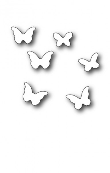 Memory Box Stanzdie mini butterflies
